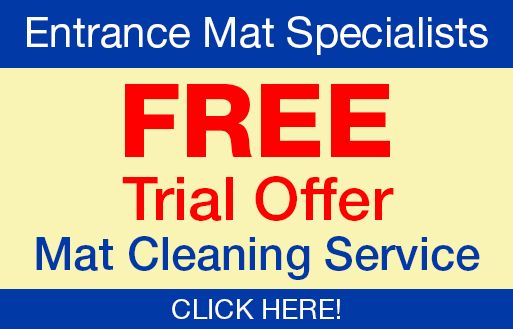 Free trial offer on mat cleaning services at Certified Carpet in Lancaster; your entrance mat specialists.