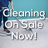 Cleaning on sale now at Certified Carpet in Lancaster, Pennsylvania