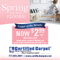 Spring carpet sale